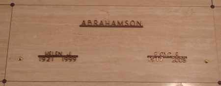 ABRAHAMSON, FLOYD EUGENE - Marion County, Oregon | FLOYD EUGENE ABRAHAMSON - Oregon Gravestone Photos