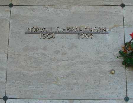ABRAHAMSON, NORALL S - Marion County, Oregon | NORALL S ABRAHAMSON - Oregon Gravestone Photos