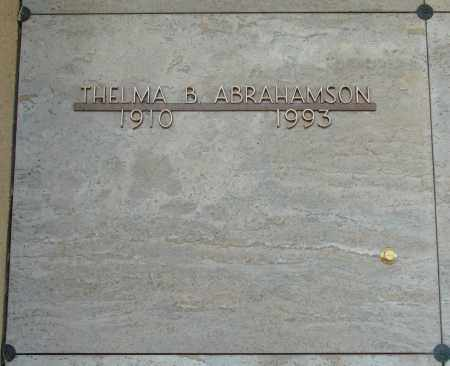 ABRAHAMSON, THELMA BEULAH - Marion County, Oregon | THELMA BEULAH ABRAHAMSON - Oregon Gravestone Photos