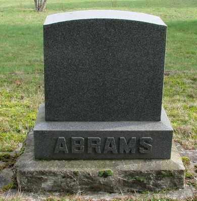ABRAMS, MONUMENT - Marion County, Oregon   MONUMENT ABRAMS - Oregon Gravestone Photos