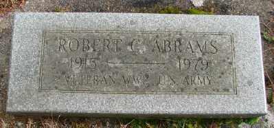 ABRAMS, ROBERT C - Marion County, Oregon | ROBERT C ABRAMS - Oregon Gravestone Photos