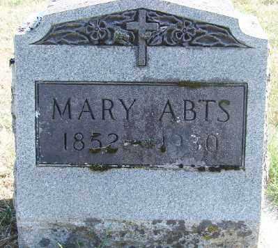 ABTS, MARY - Marion County, Oregon | MARY ABTS - Oregon Gravestone Photos