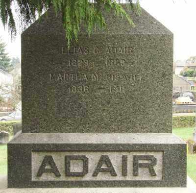 ADAIR, ELIAS COLEMAN - Marion County, Oregon | ELIAS COLEMAN ADAIR - Oregon Gravestone Photos