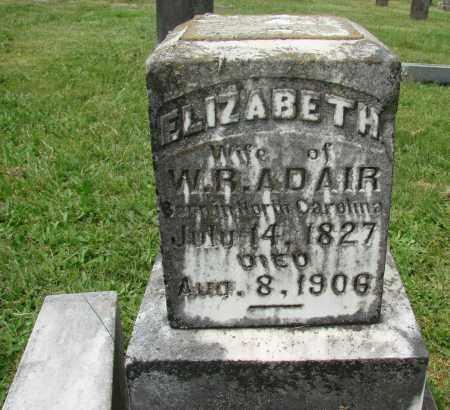 ADAIR, ELIZABETH - Marion County, Oregon | ELIZABETH ADAIR - Oregon Gravestone Photos