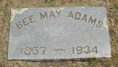 ADAMS, BEE MAY - Marion County, Oregon | BEE MAY ADAMS - Oregon Gravestone Photos