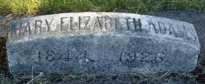 ADAMS, MARY ELIZABETH - Marion County, Oregon | MARY ELIZABETH ADAMS - Oregon Gravestone Photos