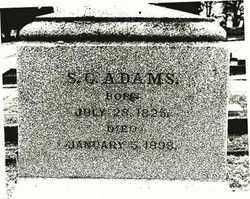 ADAMS, SEBASTIAN CABOT, JR. - Marion County, Oregon | SEBASTIAN CABOT, JR. ADAMS - Oregon Gravestone Photos