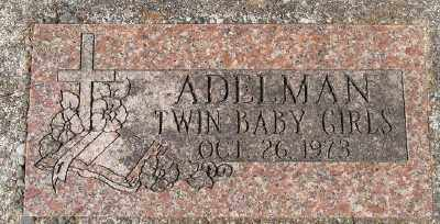 ADELMAN, TWIN BABY GIRLS - Marion County, Oregon | TWIN BABY GIRLS ADELMAN - Oregon Gravestone Photos
