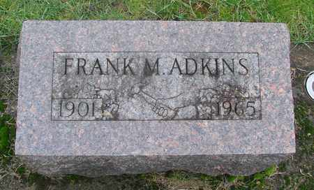 ADKINS, FRANK M - Marion County, Oregon   FRANK M ADKINS - Oregon Gravestone Photos