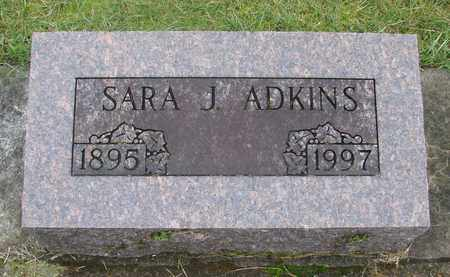 ADKINS, SARA JANE - Marion County, Oregon | SARA JANE ADKINS - Oregon Gravestone Photos