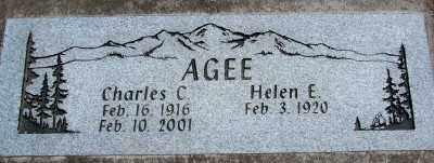AGEE, CHARLES C - Marion County, Oregon | CHARLES C AGEE - Oregon Gravestone Photos