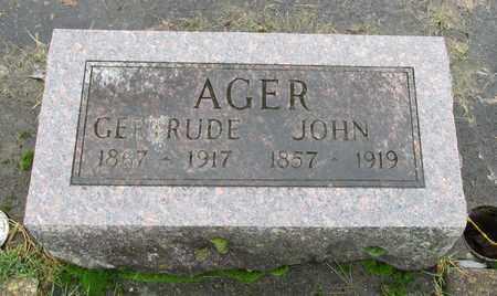 AGER, JOHN - Marion County, Oregon   JOHN AGER - Oregon Gravestone Photos