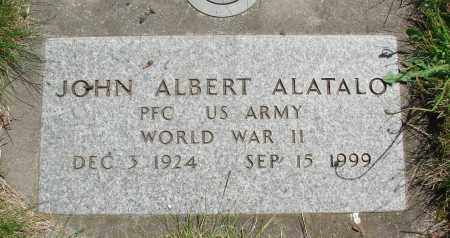 ALATALO, JOHN ALBERT - Marion County, Oregon | JOHN ALBERT ALATALO - Oregon Gravestone Photos