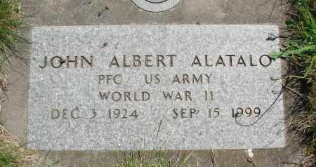 ALATALO, JOHN ALBERT - Marion County, Oregon   JOHN ALBERT ALATALO - Oregon Gravestone Photos