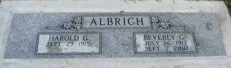 ALBRICH, BEVERLY GRACE - Marion County, Oregon | BEVERLY GRACE ALBRICH - Oregon Gravestone Photos