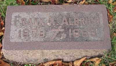 ALBRICH, FRANK X - Marion County, Oregon | FRANK X ALBRICH - Oregon Gravestone Photos