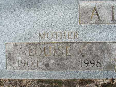 ALBRICH, LOUISE CLEMENCE - Marion County, Oregon   LOUISE CLEMENCE ALBRICH - Oregon Gravestone Photos