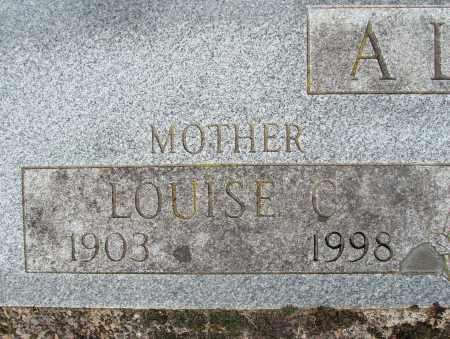 ALBRICH, LOUISE CLEMENCE - Marion County, Oregon | LOUISE CLEMENCE ALBRICH - Oregon Gravestone Photos