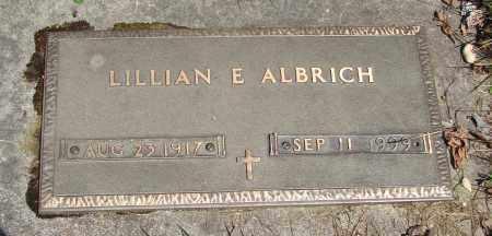 ALBRICH, LILLIAN E - Marion County, Oregon | LILLIAN E ALBRICH - Oregon Gravestone Photos