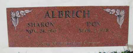 ALBRICH, SHARON - Marion County, Oregon | SHARON ALBRICH - Oregon Gravestone Photos