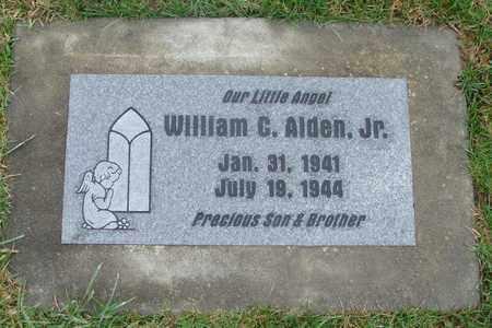 ALDEN, WILLIAM C JR - Marion County, Oregon | WILLIAM C JR ALDEN - Oregon Gravestone Photos