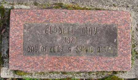 ALLEN, CLADELL MAY - Marion County, Oregon | CLADELL MAY ALLEN - Oregon Gravestone Photos