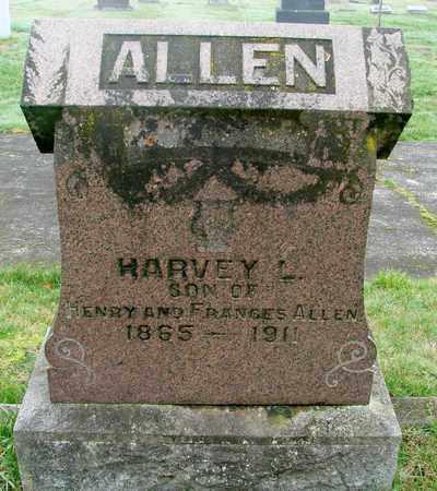 ALLEN, HARVEY L - Marion County, Oregon | HARVEY L ALLEN - Oregon Gravestone Photos