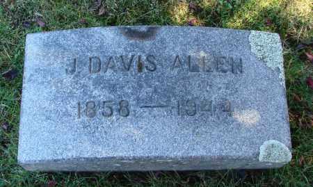 ALLEN, J DAVIS - Marion County, Oregon | J DAVIS ALLEN - Oregon Gravestone Photos