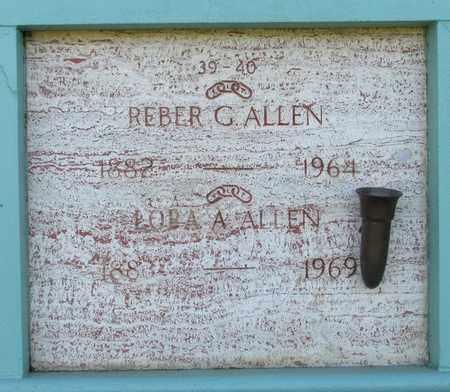 ALLEN, REBER GLENN - Marion County, Oregon | REBER GLENN ALLEN - Oregon Gravestone Photos