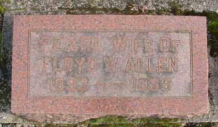 ALLEN, PEARL - Marion County, Oregon   PEARL ALLEN - Oregon Gravestone Photos