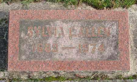 ALLEN, SYLVIA E - Marion County, Oregon | SYLVIA E ALLEN - Oregon Gravestone Photos