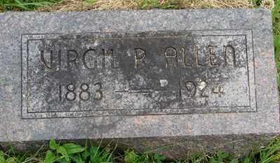 ALLEN, VIRGIL P - Marion County, Oregon | VIRGIL P ALLEN - Oregon Gravestone Photos
