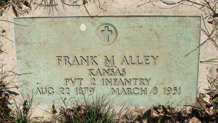 ALLEY, FRANK M - Marion County, Oregon | FRANK M ALLEY - Oregon Gravestone Photos
