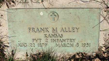 ALLEY, FRANK M - Marion County, Oregon | FRANK M ALLEY - Oregon Gravestone Photos