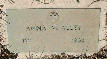 ALLEY, ANNA M - Marion County, Oregon   ANNA M ALLEY - Oregon Gravestone Photos