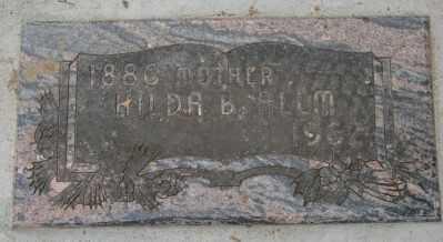 ALLM, HILDA BETSY - Marion County, Oregon   HILDA BETSY ALLM - Oregon Gravestone Photos