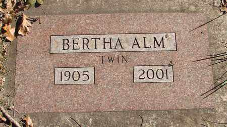 ALM, BERTHA - Marion County, Oregon | BERTHA ALM - Oregon Gravestone Photos