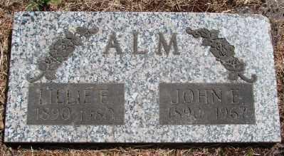 ALM, JOHN EDWARD - Marion County, Oregon | JOHN EDWARD ALM - Oregon Gravestone Photos
