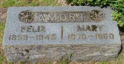 AMORT, MARY - Marion County, Oregon | MARY AMORT - Oregon Gravestone Photos