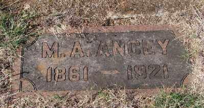 ANCEY, M A - Marion County, Oregon | M A ANCEY - Oregon Gravestone Photos