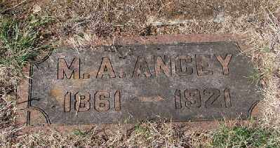 ANCEY, M A - Marion County, Oregon | M A ANCEY - Oregon Gravestone Photos