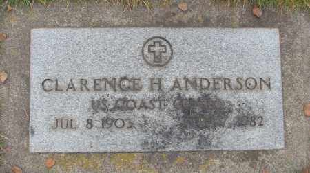 ANDERSON (SERV), CLARENCE H - Marion County, Oregon | CLARENCE H ANDERSON (SERV) - Oregon Gravestone Photos