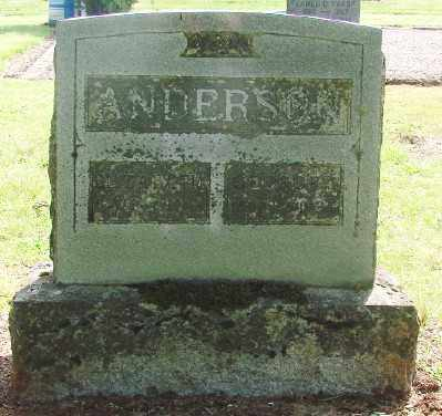 ANDERSON, GEORGE S - Marion County, Oregon   GEORGE S ANDERSON - Oregon Gravestone Photos