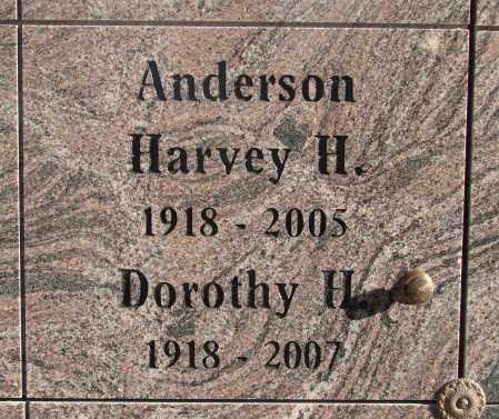 ANDERSON, HARVEY HOWARD - Marion County, Oregon | HARVEY HOWARD ANDERSON - Oregon Gravestone Photos