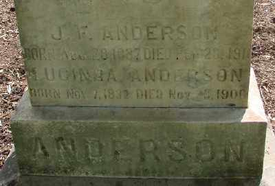 ANDERSON, JOHN FRANKLIN - Marion County, Oregon | JOHN FRANKLIN ANDERSON - Oregon Gravestone Photos