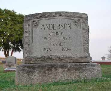 ANDERSON, LISABET - Marion County, Oregon | LISABET ANDERSON - Oregon Gravestone Photos