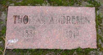 ANDRESEN, THOMAS - Marion County, Oregon | THOMAS ANDRESEN - Oregon Gravestone Photos