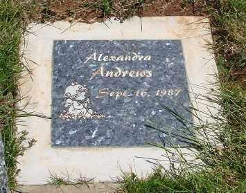 ANDREWS, ALEXANDRA - Marion County, Oregon | ALEXANDRA ANDREWS - Oregon Gravestone Photos
