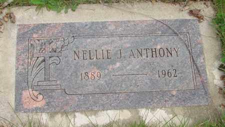 ANTHONY, NELLIE J - Marion County, Oregon | NELLIE J ANTHONY - Oregon Gravestone Photos
