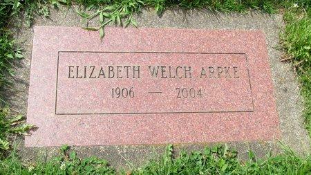 WELCH, ELIZABETH - Marion County, Oregon | ELIZABETH WELCH - Oregon Gravestone Photos
